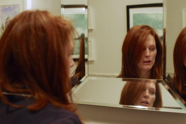 Julianne Moore on Alice Howland