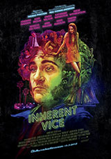 Inherent Vice poster, juliste.