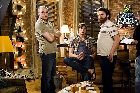 Rob Corddry, Ashton Kutcher ja Zach Galifianakis
