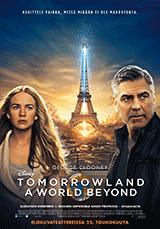 Tomorrowland - George Clooney, Britt Robertson - poster, juliste