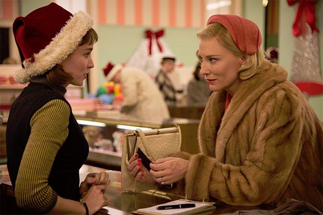 Rooney Mara ja Cate Blanchett