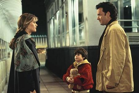 Meg Ryan, Ross Malinger ja Tom Hanks.