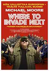 Where to Invade Next, juliste.