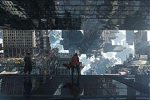 Doctor Strange ja kaleidoskooppinen näkymä.
