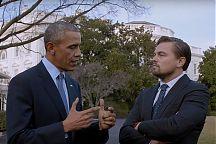Barack Obama ja Leonardo DiCaprio