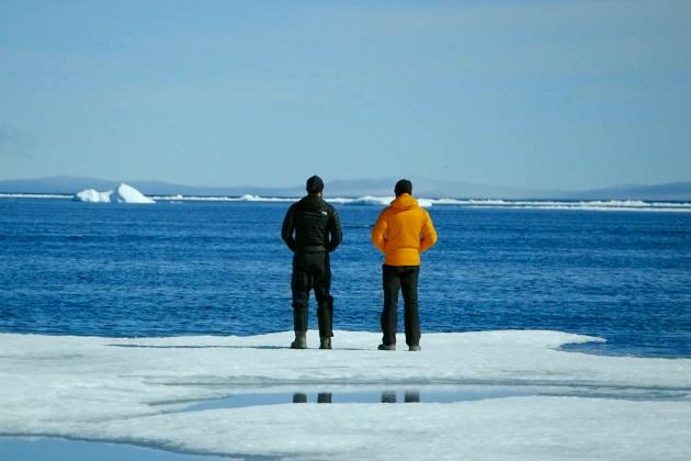 DiCaprio Pohjoisella valtamerellä