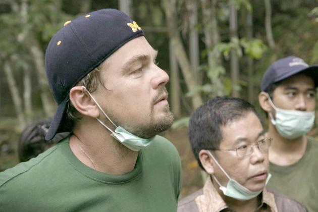 DiCaprio Indonesiassa