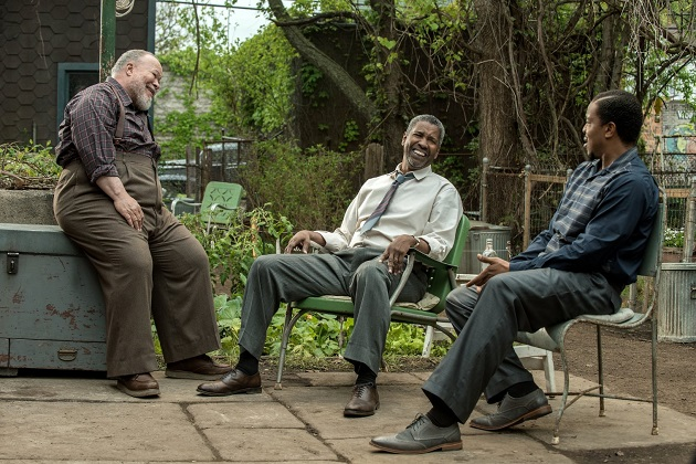 Stephen Henderson, Denzel Washington ja Russell Hornsby