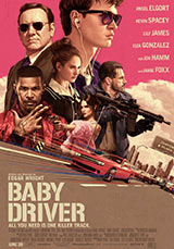 Baby Driver, poster