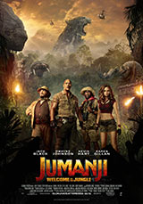 Jumanji: Welcome to the Jungle, poster