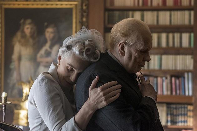Kristin Scott Thomas ja Gary Oldman