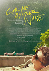 Call me by your name, poster