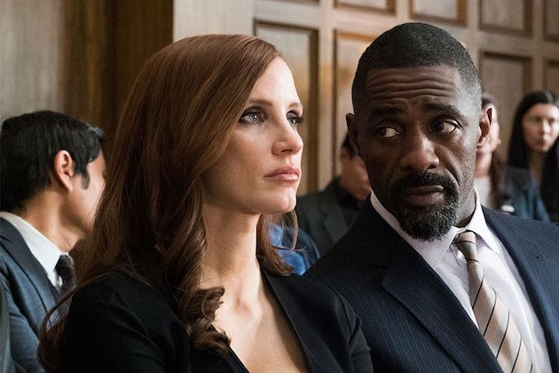 Jessica Chastain ja Idris Elba