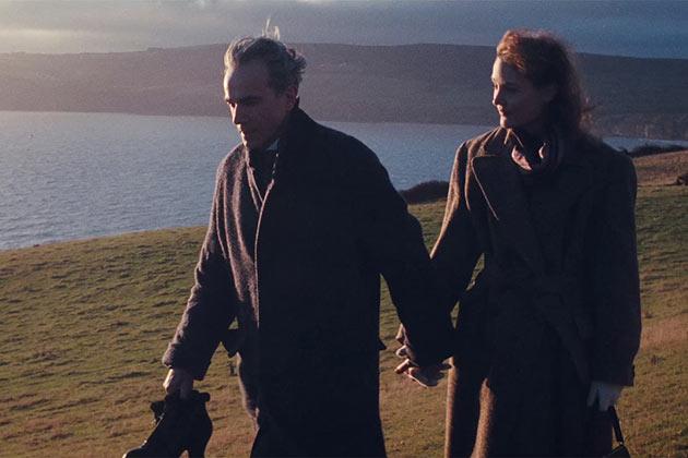 Daniel Day-Lewis ja  Vicky Krieps