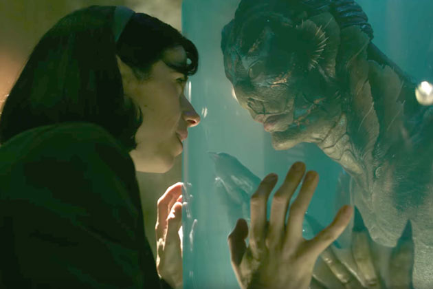 Shape of Water: Sally Hawkins ja Doug Jones