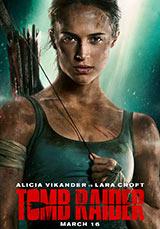 Alicia Vikander, Tomb Raider, poster