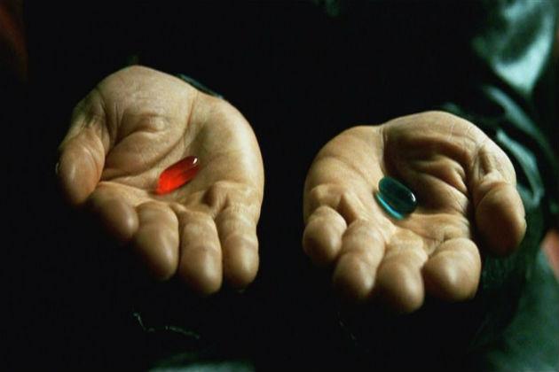 Matrix: punainen vai sininen pilleri?