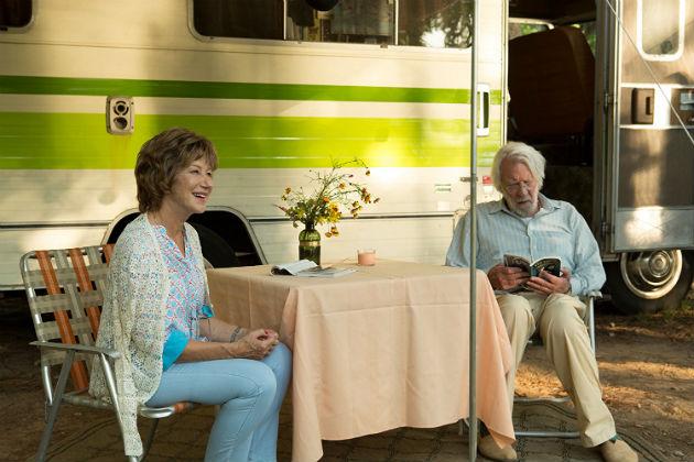 Helen Mirren ja Donald Sutherland