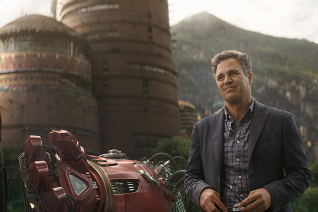 Mark Ruffalo on Hulk ja Bruce Banner