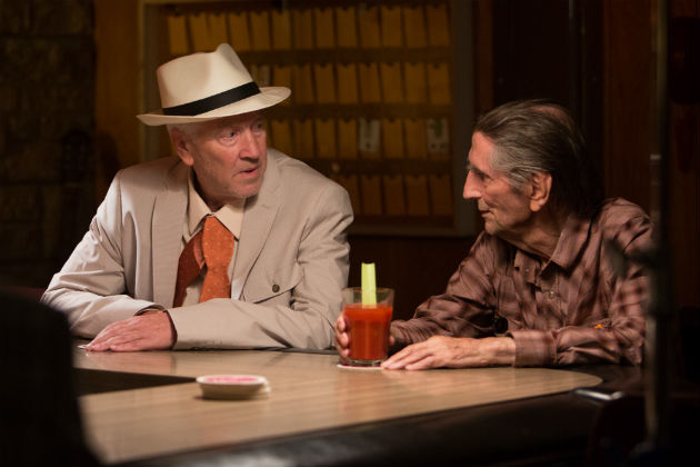 David Lynch ja Harry Dean Stanton