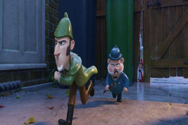 Sherlock Gnomes, tohtori Watson ja Julia