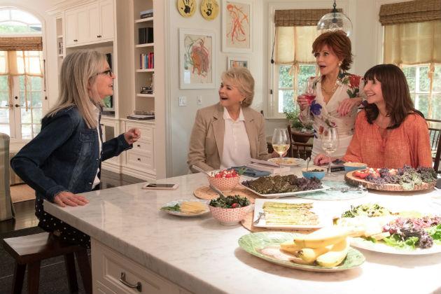 Diane Keaton, Candice Bergen, Jane Fonda ja Mary Steenburgen