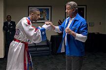 Michael B. Jordan ja Sylvester Stallone