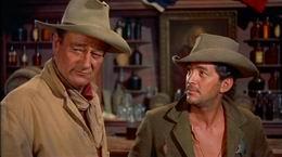 John Wayne ja Dean Martin