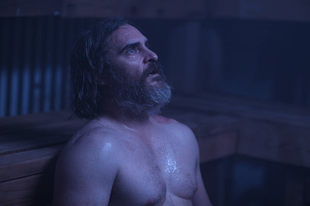 You Were Never Really Here, Joaquin Phoenix