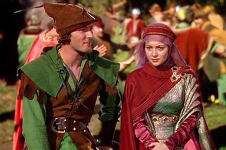 Errol Flynn ja Olivia de Havilland