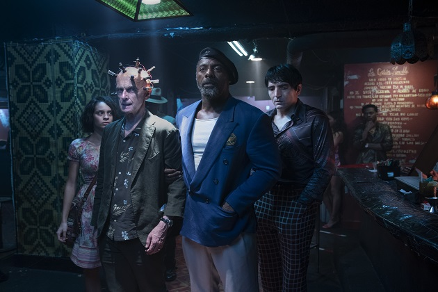 Daniela Melchior, Peter Capaldi, Idris Elba ja David Dastmalchian