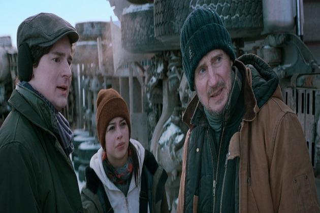 Benjamin Walker, Amber Midthunder ja Liam Neeson