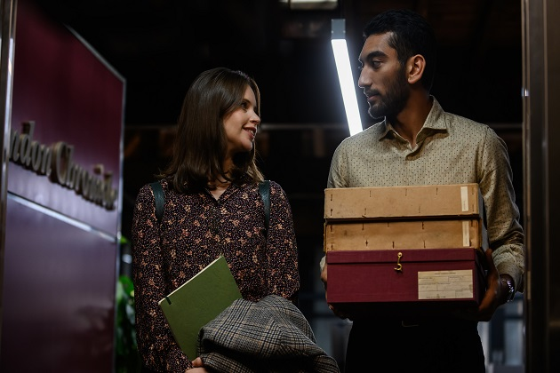 Felicity Jones ja Nabhaan Rizwan