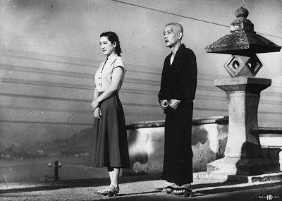 Setsuko Hara ja Chishu Ryu