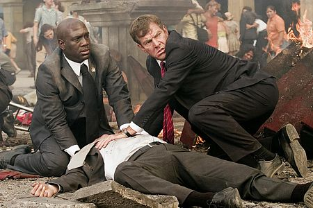 Richard T. Jones ja Dennis Quaid.