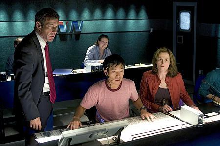 Dennis Quaid, Leonardo Nam ja Sigourney Weaver.