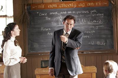 Molly Parker ja Nicolas Cage