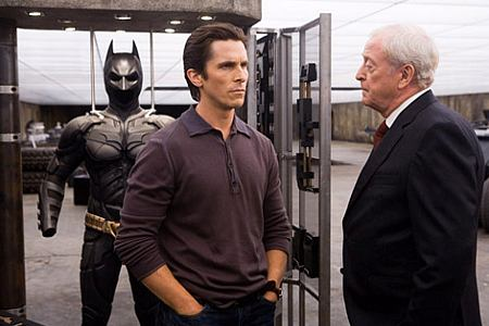 Christian Bale ja Michael Caine.