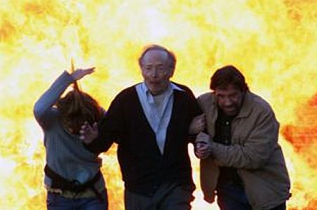 Joanna Pacula, Bernie Kopell ja Chuck Norris.