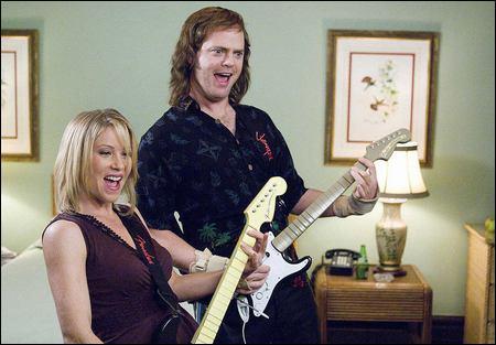 Christina Applegate ja Rainn Wilson