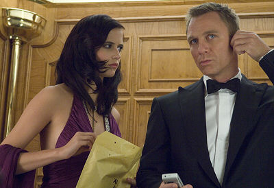 Eva Green ja Daniel Craig