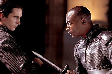 Christian Bale ja Taye Diggs.
