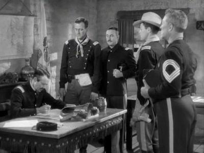 Henry Fonda, John Wayne, George O'Brien, John Agar, Ward Bond