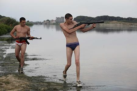 Ciro Petrone ja Marco Macor.