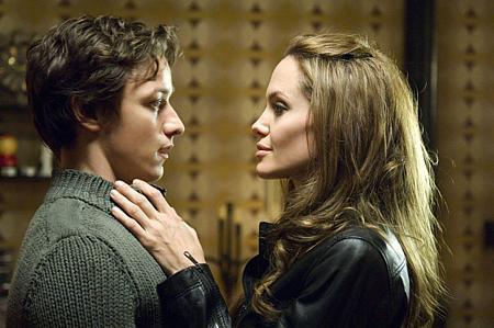James McAvoy ja Angelina Jolie