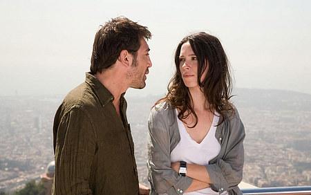 Javier Bardem ja Rebecca Hall