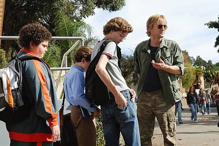 Troy Gentile, David Dorfman, Nate Hartley ja Owen Wilson.