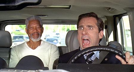 Morgan Freeman ja Steve Carell