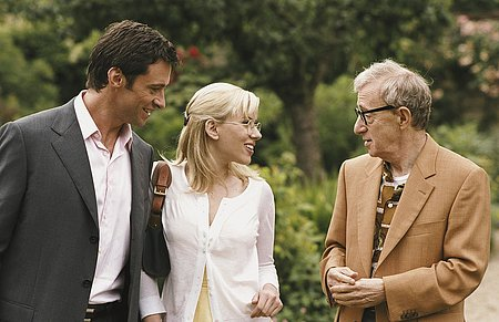 Hugh Jackman, Scarlett Johansson ja Woody Allen