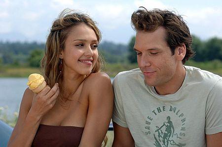 Jessica Alba ja Dane Cook.